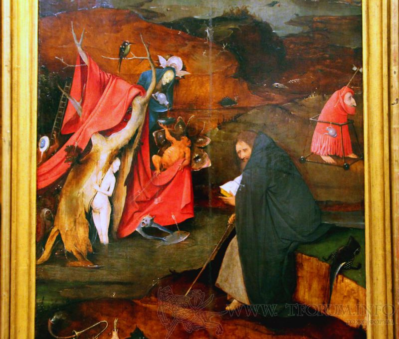 temptation of st anthony giovanni girolamo savoldo Giovanni girolamo savoldo: torment of st anthony - colors really stand out in this picture blue/green suggest the good side of life while red/black suggest evil as that is the emphasis of this work.