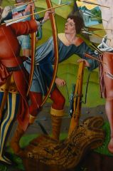 Master Of The Holy Kinship (II). Altarpiece Of St Sebastian