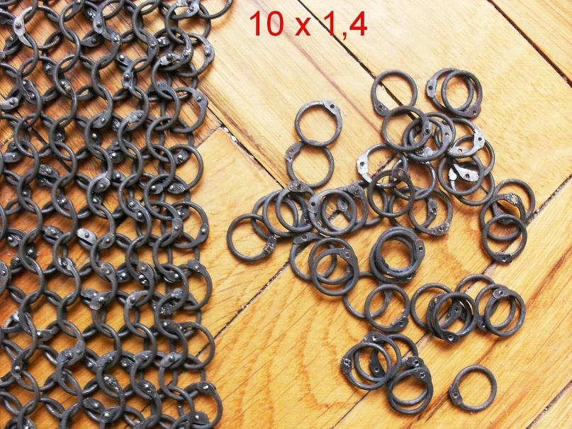 Как сделать клепаное кольцо для кольчуги