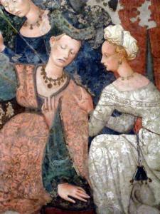 Maître du Triomphe de la Mort, Le Triomphe de la Mort (détail) Milieu du XVe siècle, Galerie interdisciplinaire Régionale de la Sicile, Palazzo Abatellis, Palerme.jpg
