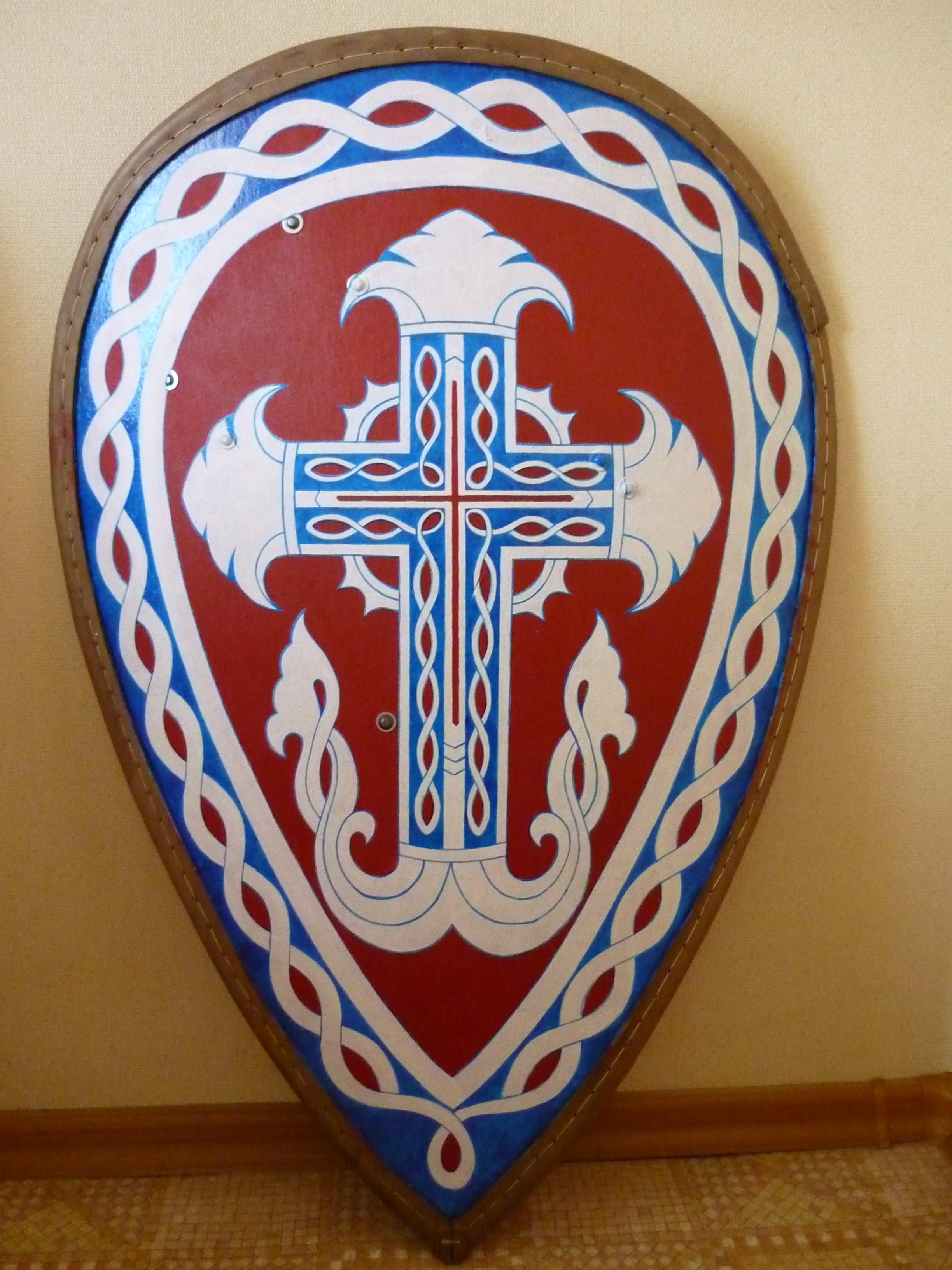Изготовление фанерного щита » SwordMaster 79