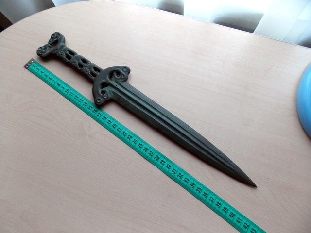 Скифский меч, найденный под Славянском, передан на реставрацию, - Минкультуры - Цензор.НЕТ 5485